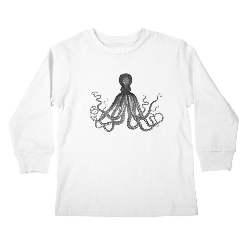 Octopus Two Kids Longsleeve T-Shirt by Iacobaeus's Artist Shop