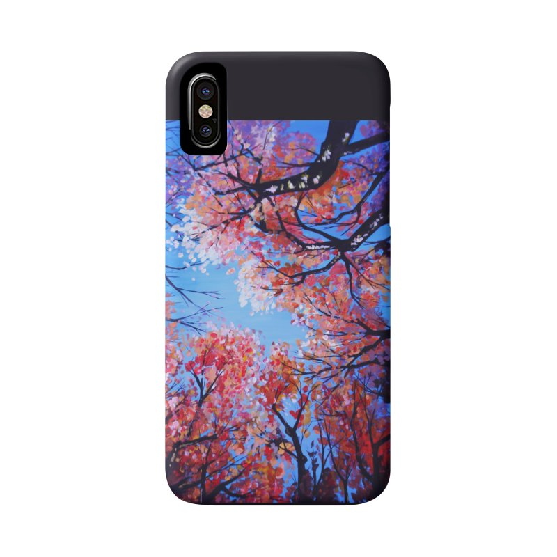 Under the fall trees Accessories Phone Case by Alecs' Shop