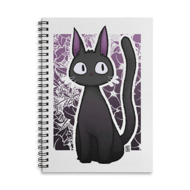 Jiji Accessories Lined Spiral Notebook by Alecs' Shop