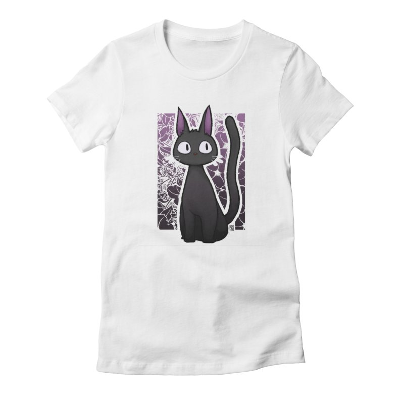 Jiji Women's Fitted T-Shirt by Alecs' Shop