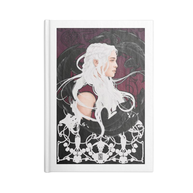 Daenerys Accessories Lined Journal Notebook by Alecs' Shop