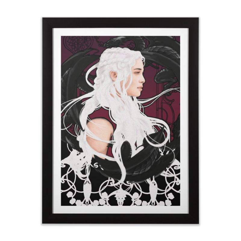 Daenerys Home Framed Fine Art Print by Alecs' Shop