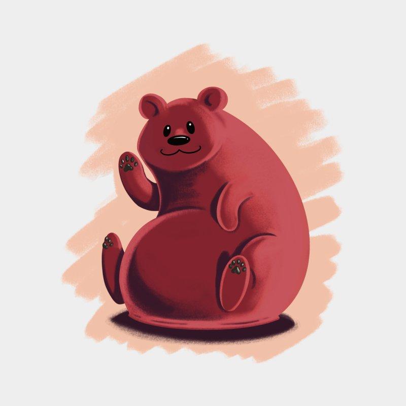Happy bear by Birgitte Johnsen's Artist Shop