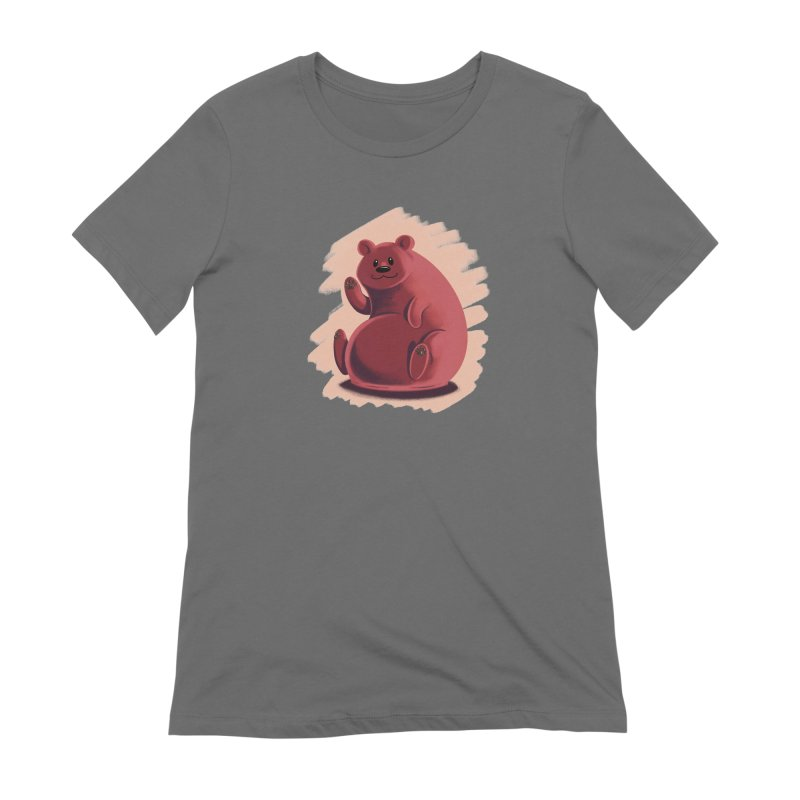 Happy bear Women's T-Shirt by Birgitte Johnsen's Artist Shop