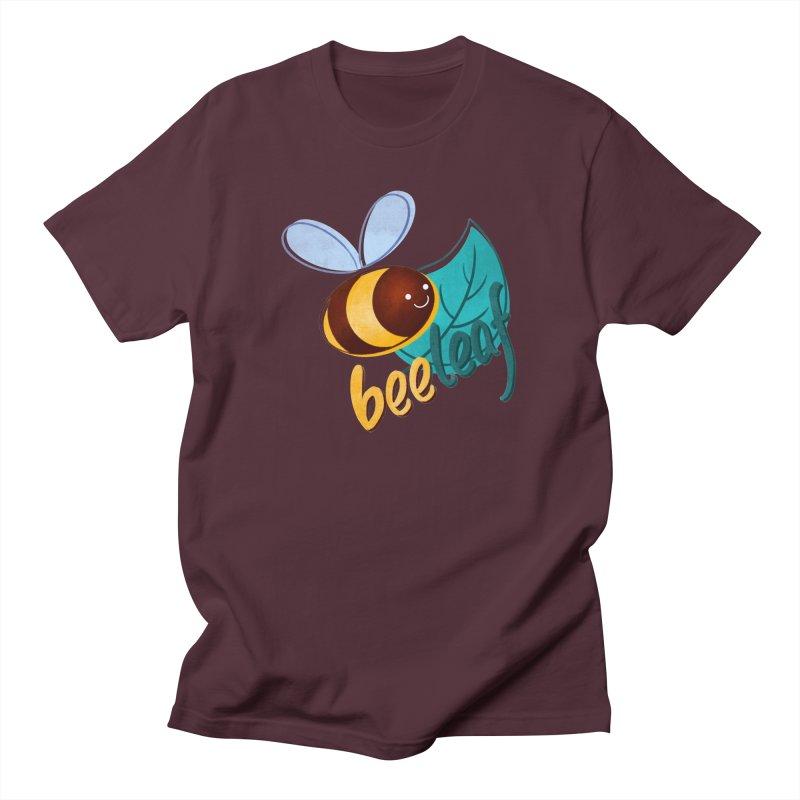 Bee leaf (belief) Women's T-Shirt by Birgitte Johnsen's Artist Shop