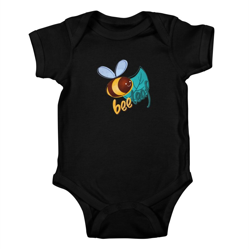 Bee leaf (belief) Kids Baby Bodysuit by Birgitte Johnsen's Artist Shop