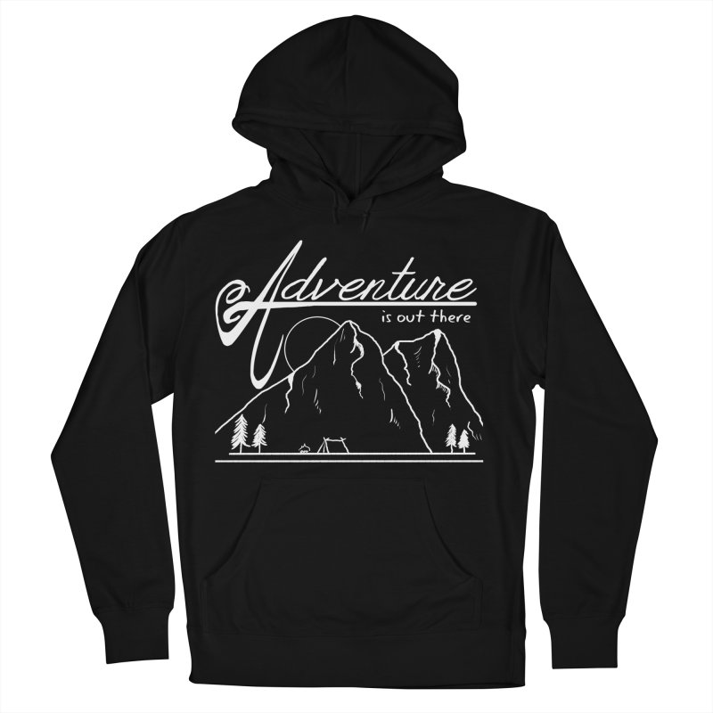 Adventure is Out There Women's French Terry Pullover Hoody by iamcoreykeller's Artist Shop