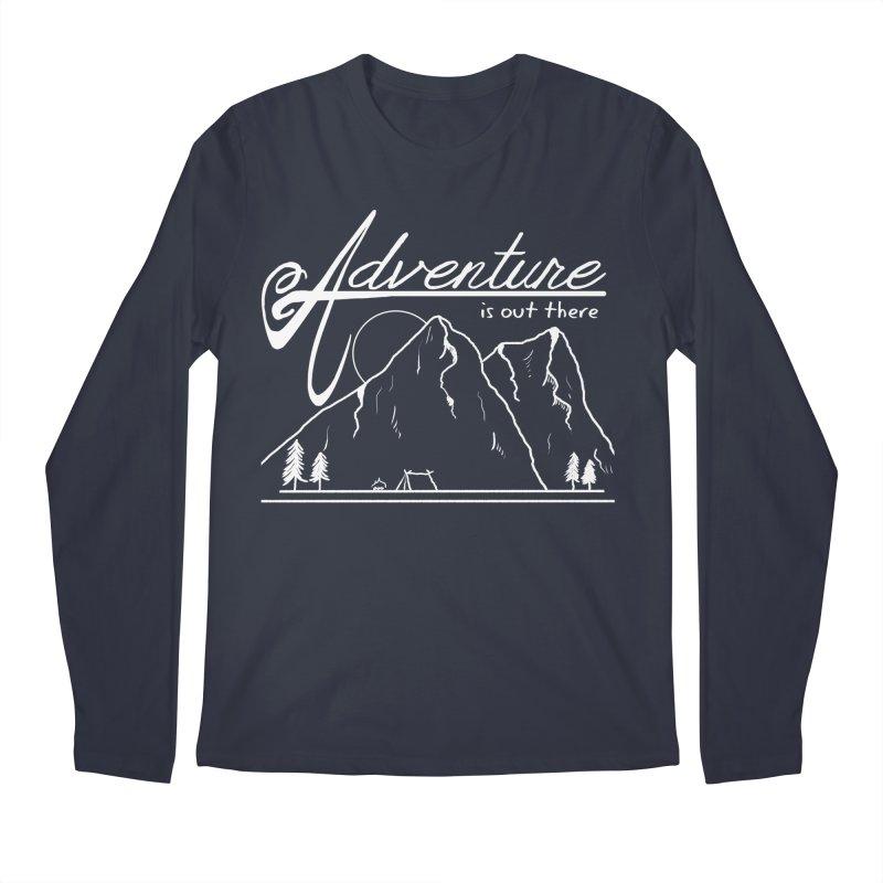 Adventure is Out There Men's Regular Longsleeve T-Shirt by iamcoreykeller's Artist Shop
