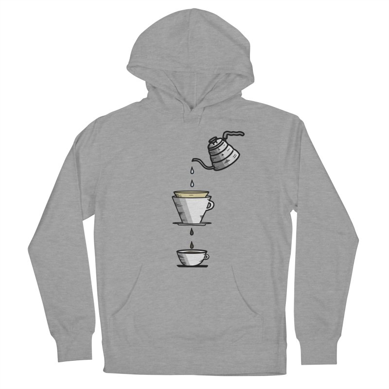 Coffee Lover Women's French Terry Pullover Hoody by iamcoreykeller's Artist Shop