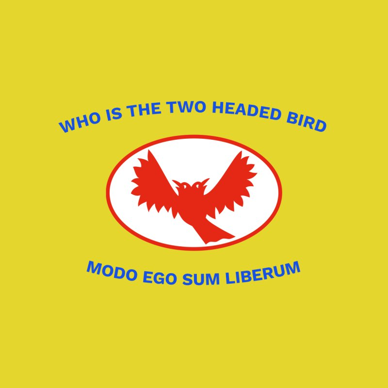 The Bird Question Flag | Who is the two headed bird? by MarcusFartist | Art POD Factory
