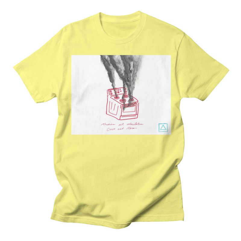 Oven Gas Fire | is something burning? Men's T-Shirt by MarcusFartist | Art POD Factory