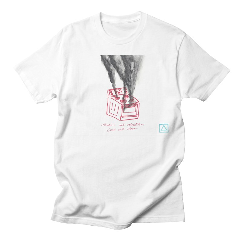 Oven Gas Fire | is something burning? Men's Regular T-Shirt by MarcusFartist | Art POD Factory