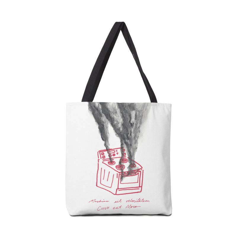 Oven Gas Fire | is something burning? Accessories Tote Bag Bag by MarcusFartist | Art POD Factory