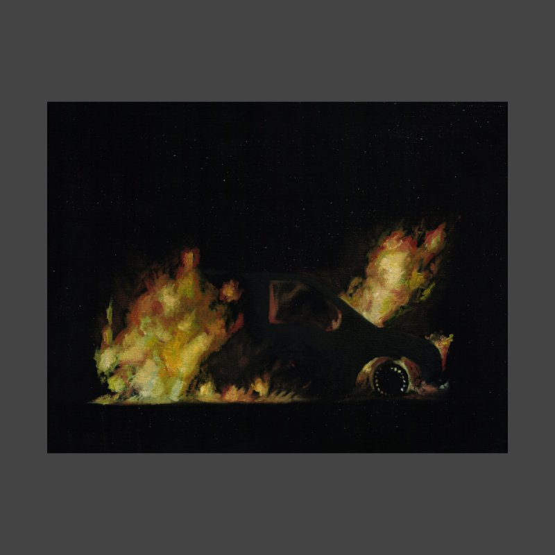 Car Fire at Night | who set this car on fire? by MarcusFartist | Art POD Factory
