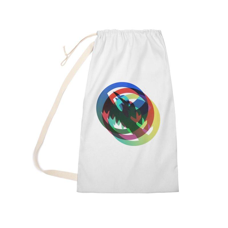 Modo Ego Sum  Liberum | one? trippy psychadeilc bird Accessories Bag by MarcusFartist | Art POD Factory