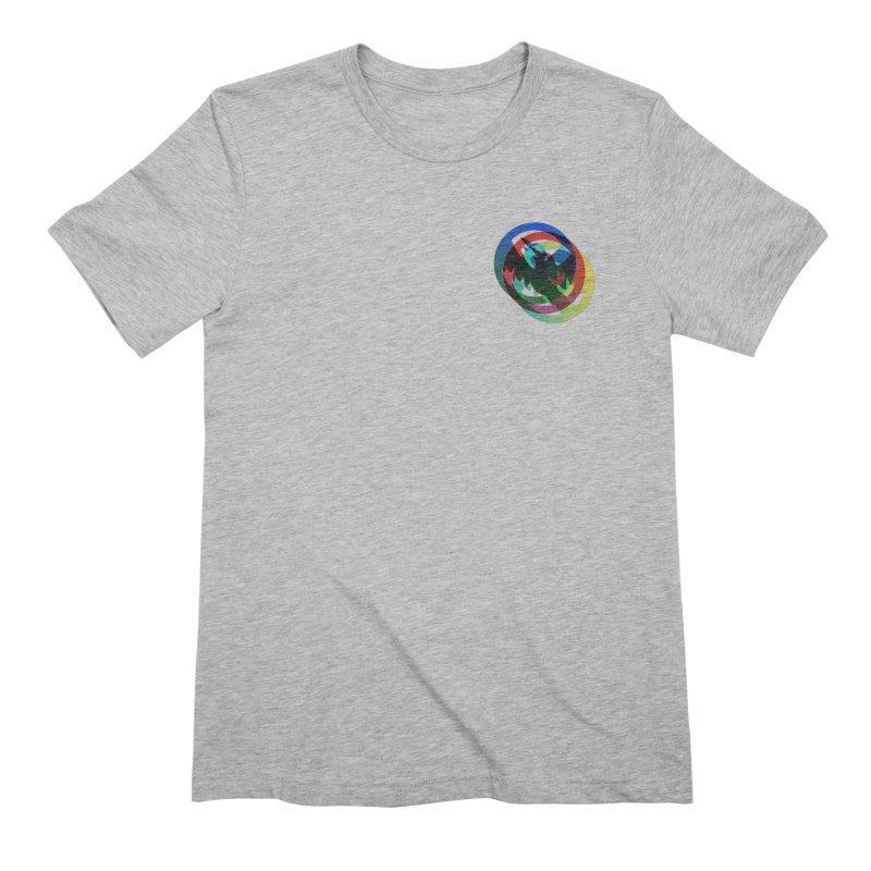 Modo Ego Sum  Liberum   one? trippy psychadeilc bird Men's T-Shirt by MarcusFartist   Art POD Factory