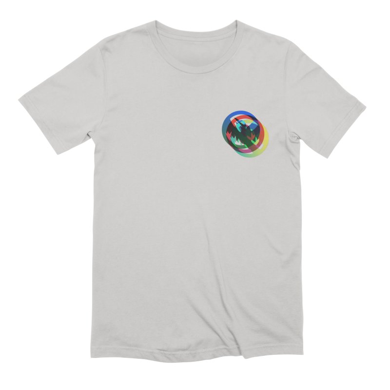 Modo Ego Sum  Liberum | one? trippy psychadeilc bird Men's T-Shirt by MarcusFartist | Art POD Factory
