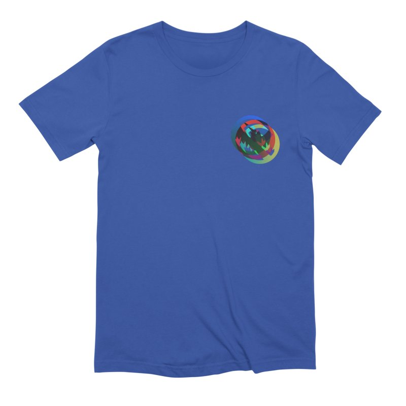 Modo Ego Sum  Liberum | one? trippy psychadeilc bird Men's T-Shirt by MarcusFartist | Art POD Factory
