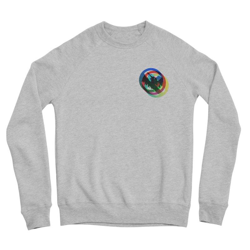 Modo Ego Sum  Liberum | one? trippy psychadeilc bird Men's Sponge Fleece Sweatshirt by MarcusFartist | Art POD Factory