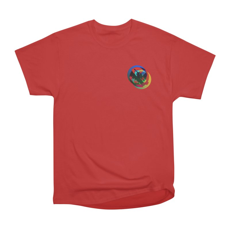 Modo Ego Sum  Liberum | one? trippy psychadeilc bird Women's Heavyweight Unisex T-Shirt by MarcusFartist | Art POD Factory