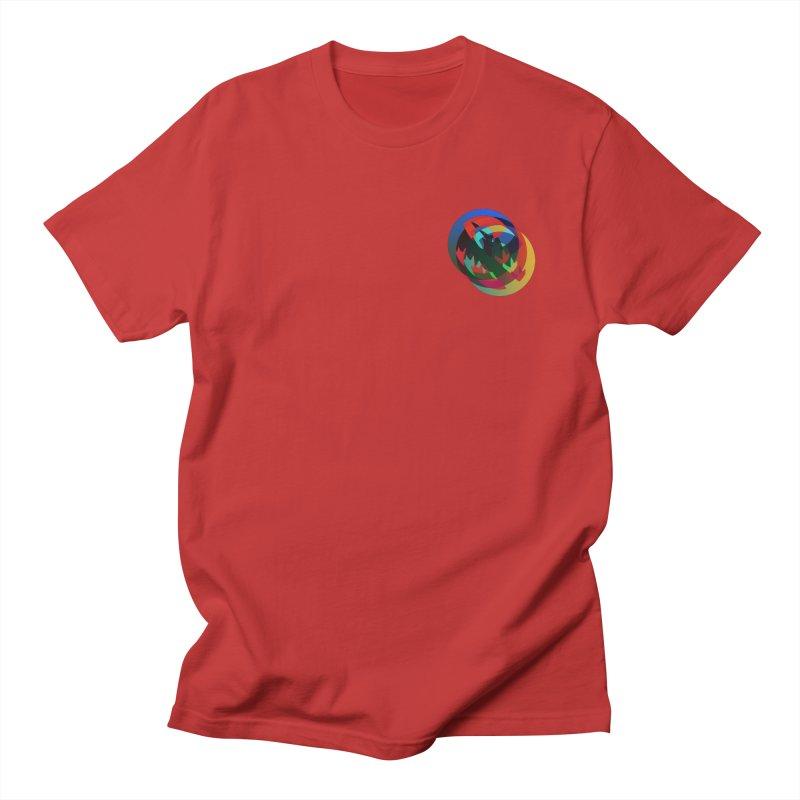 Modo Ego Sum  Liberum   one? trippy psychadeilc bird Women's Regular Unisex T-Shirt by MarcusFartist   Art POD Factory