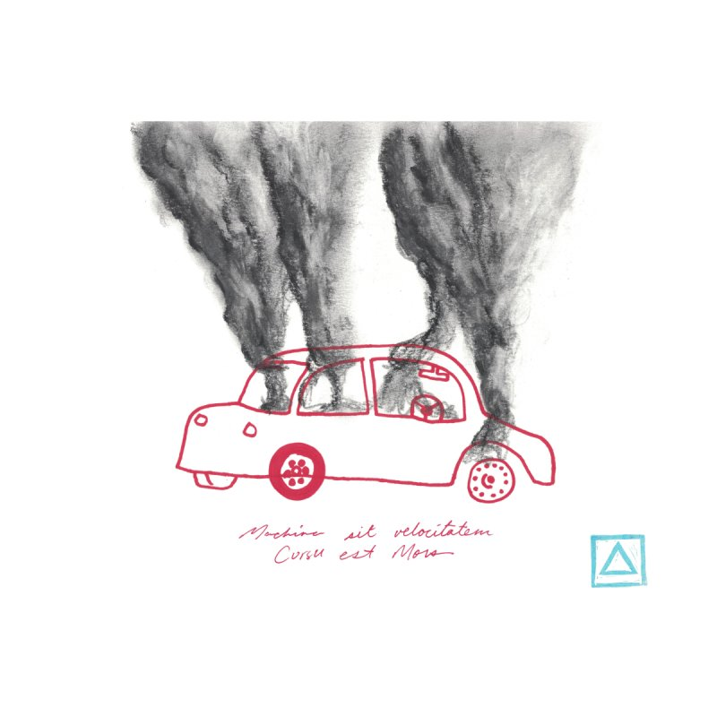 Car Fire Smoke | Something is burning? by MarcusFartist | Art POD Factory