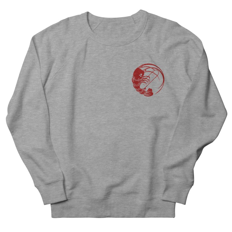 Gokudō Skateboards Logo Crimson Men's French Terry Sweatshirt by Gokuten