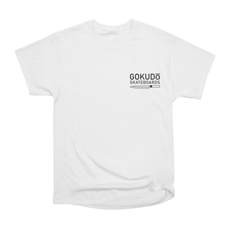 Gokudō Hōchō Black Men's Heavyweight T-Shirt by Gokuten