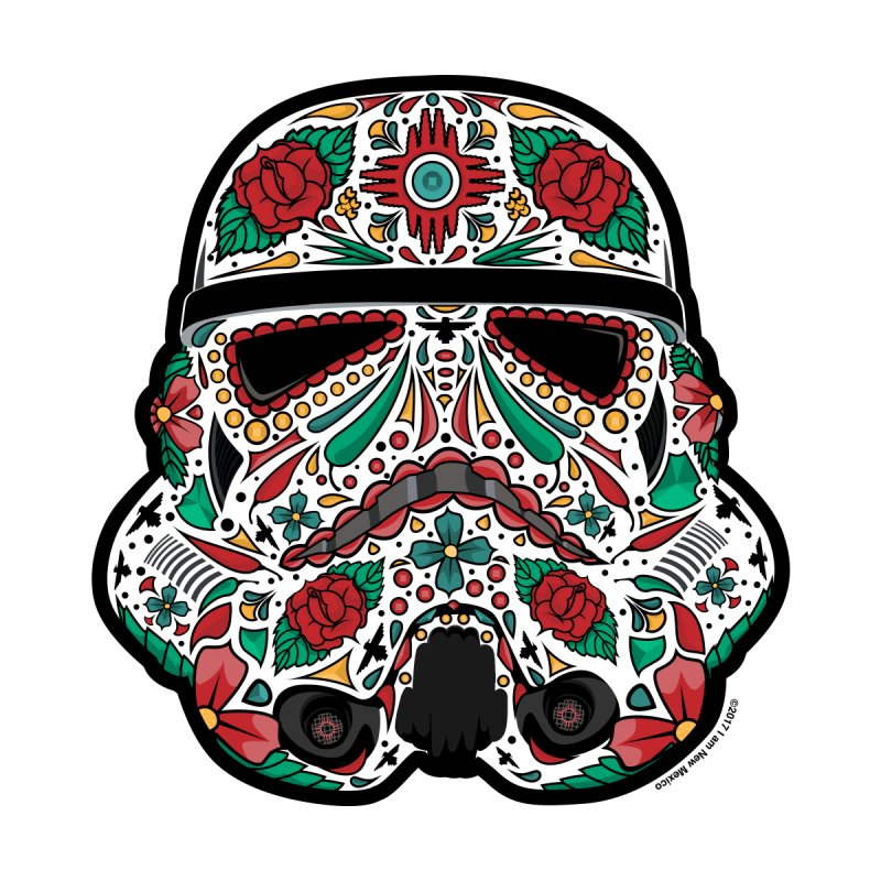 New Mexico Sugar Skull Trooper by I am New Mexico Merchandise