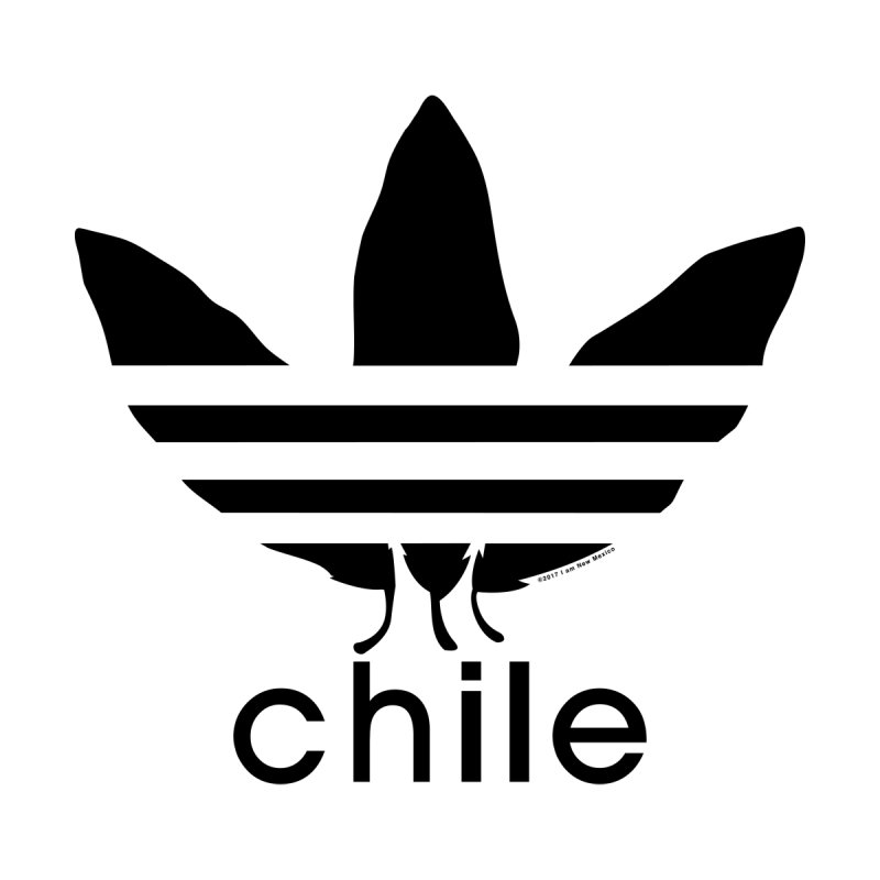 Old School Chile Print by I am New Mexico Merchandise