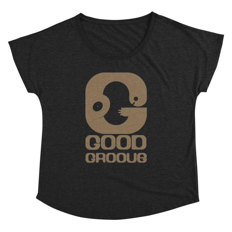 Good Groove Women's Scoop Neck by PK store