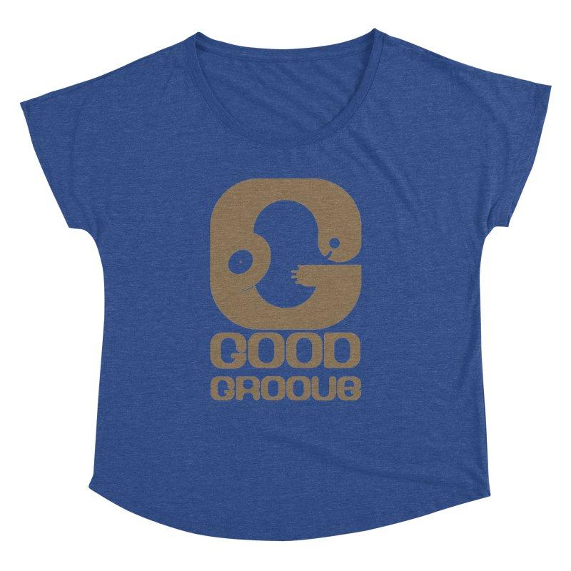 Good Groove Women's Dolman Scoop Neck by PK store