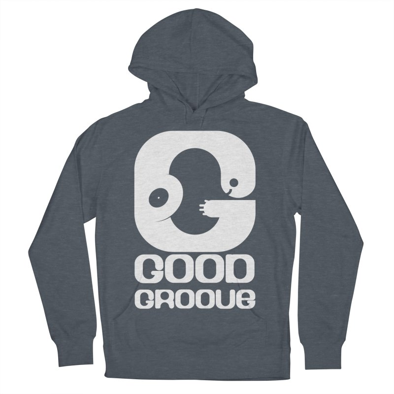 Good Groove Men's French Terry Pullover Hoody by PK store