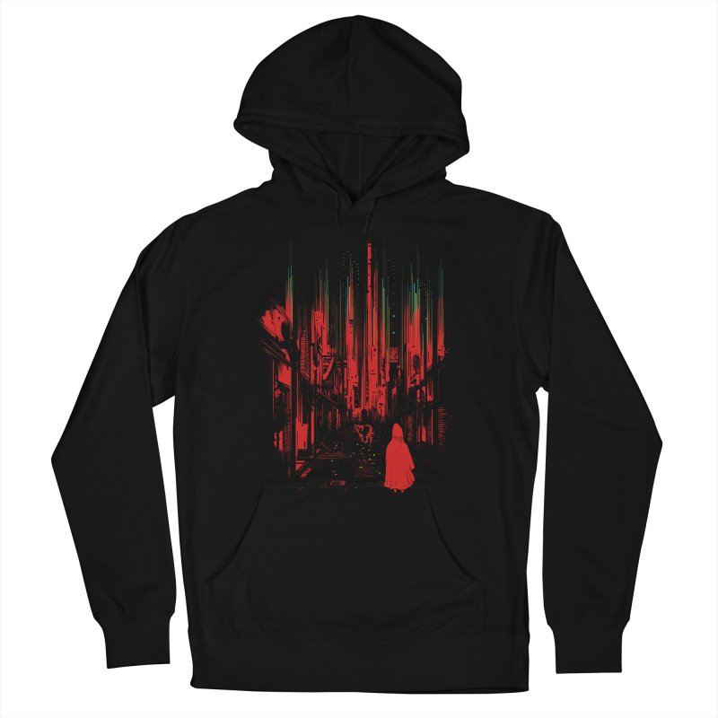 Meet Me Where The Night Glows Men's French Terry Pullover Hoody by IAmRobman