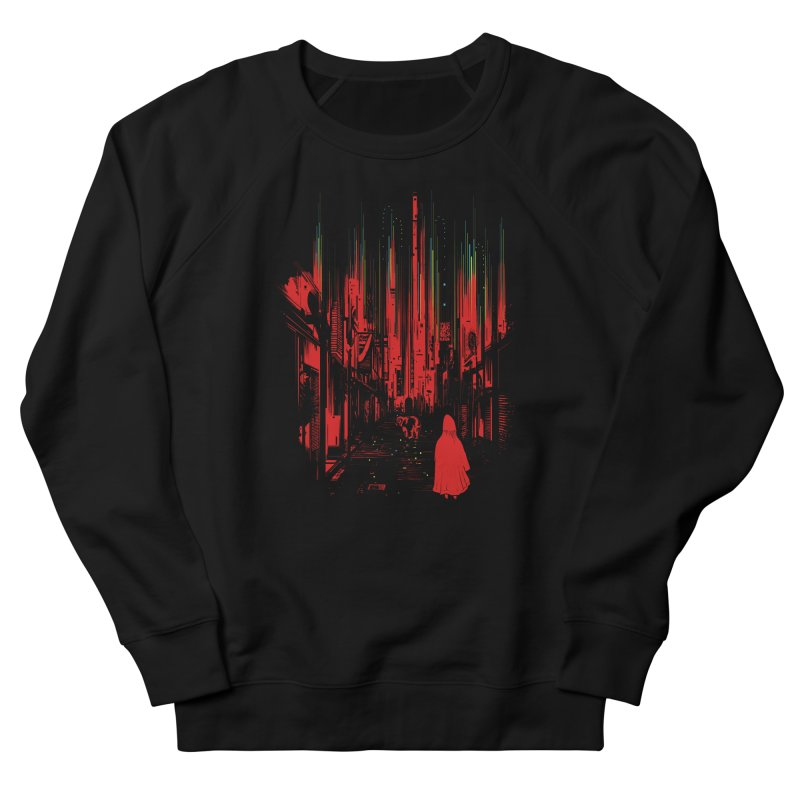 Meet Me Where The Night Glows Men's French Terry Sweatshirt by IAmRobman