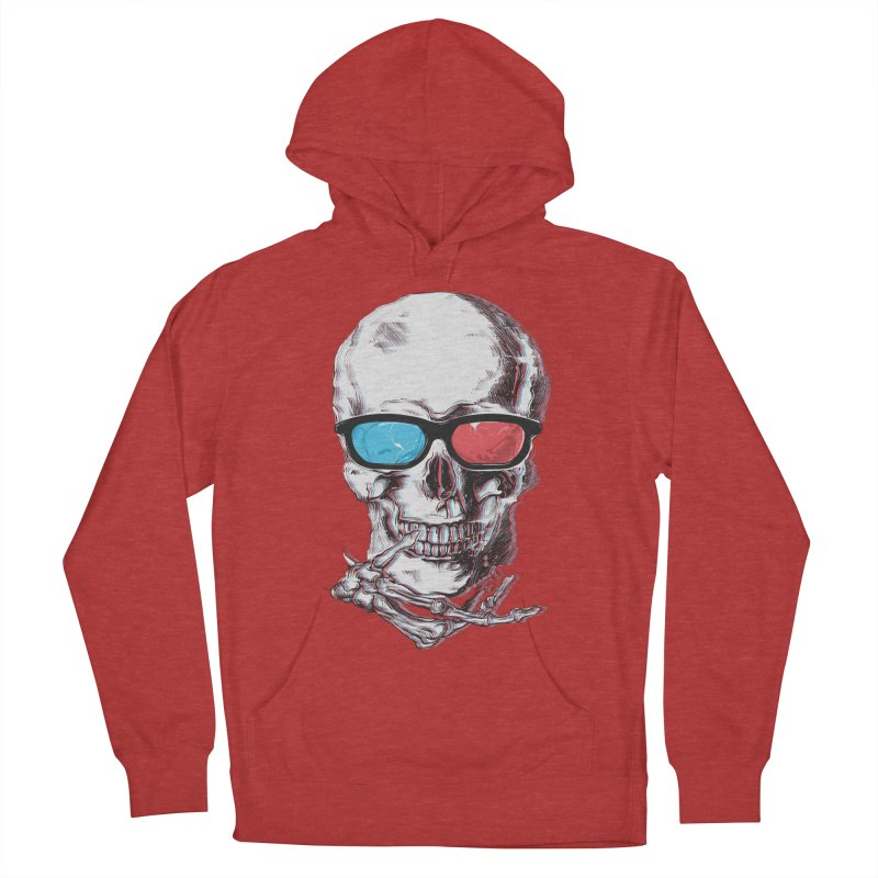 3 Death Men's French Terry Pullover Hoody by IAmRobman