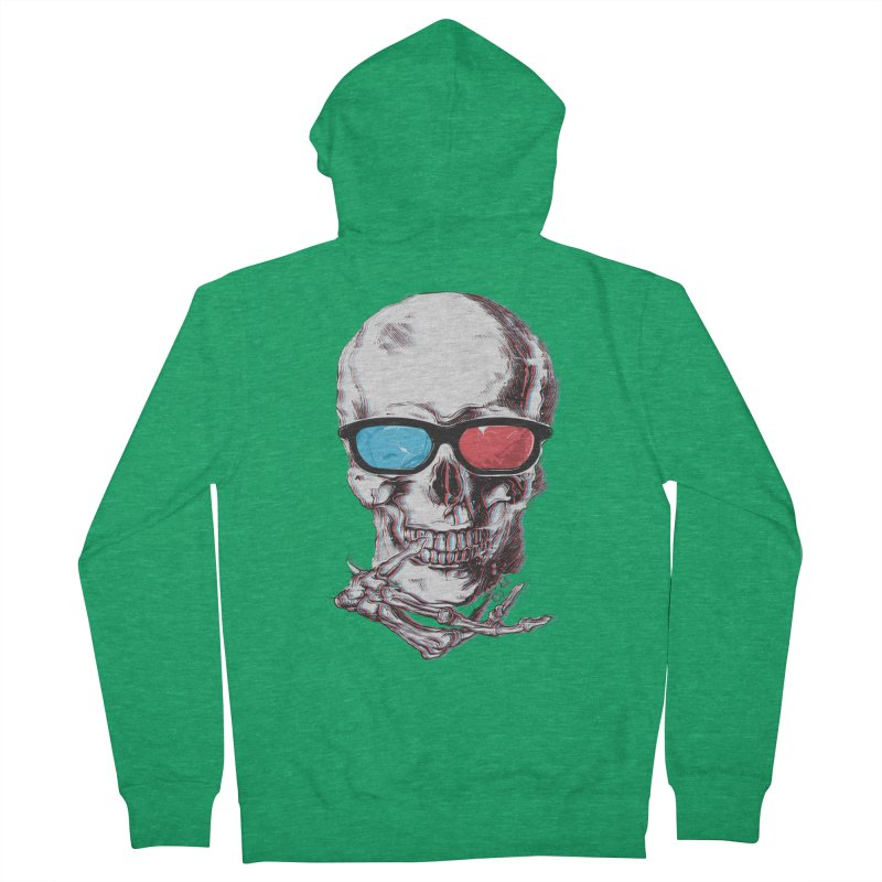 3 Death Women's French Terry Zip-Up Hoody by IAmRobman