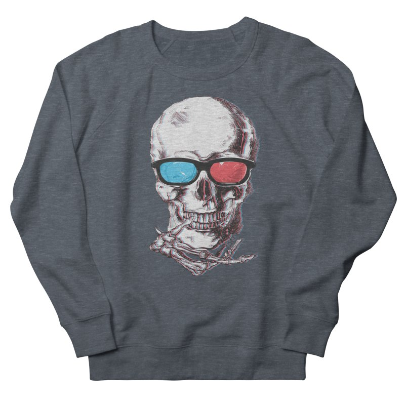 3 Death Men's French Terry Sweatshirt by IAmRobman