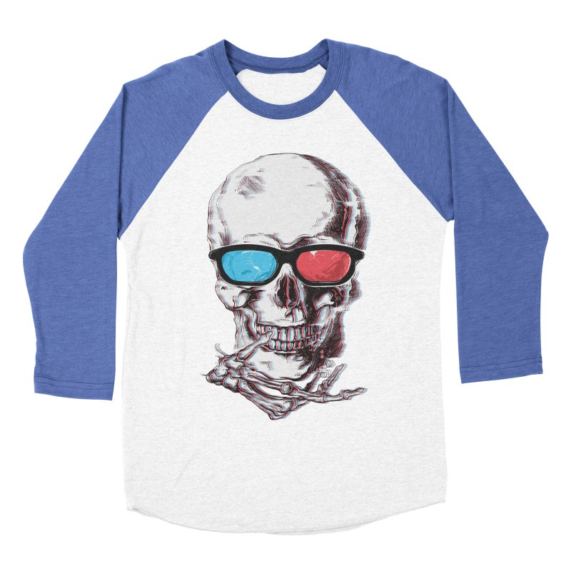 3 Death Women's Baseball Triblend Longsleeve T-Shirt by IAmRobman