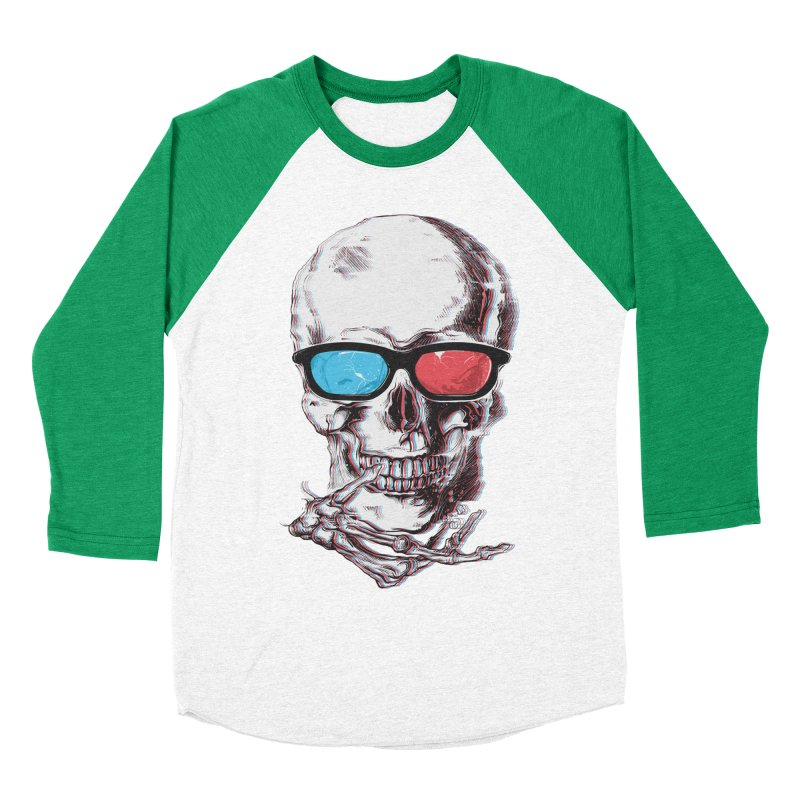 3 Death Women's Baseball Triblend T-Shirt by IAmRobman
