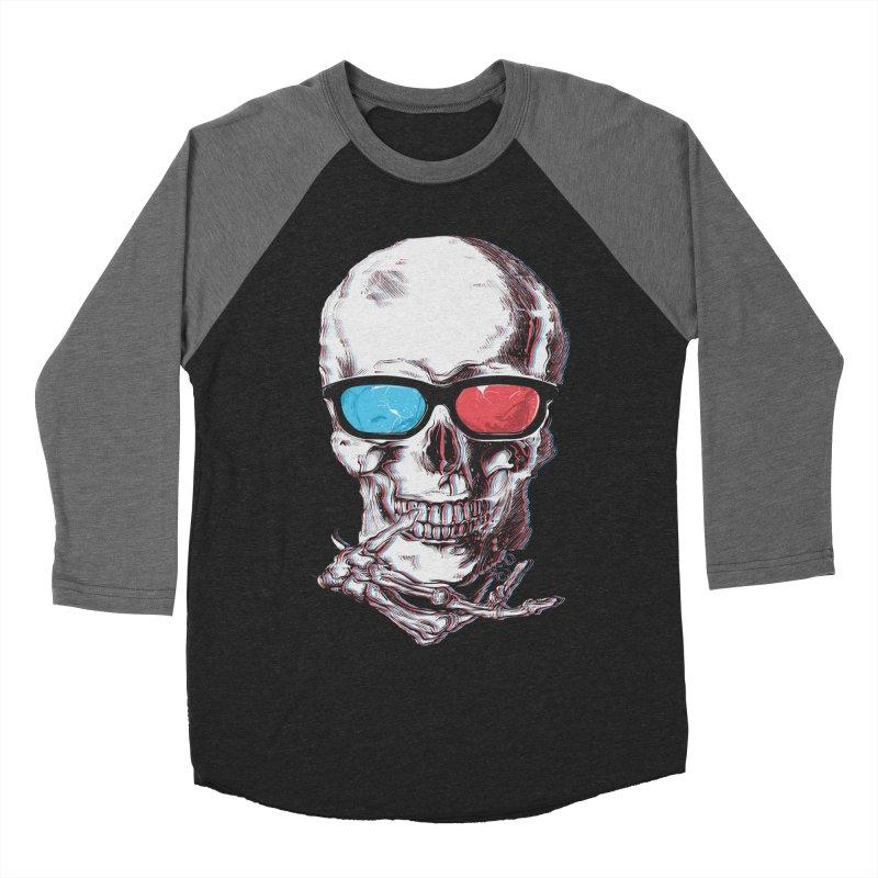 3 Death Men's Baseball Triblend Longsleeve T-Shirt by IAmRobman