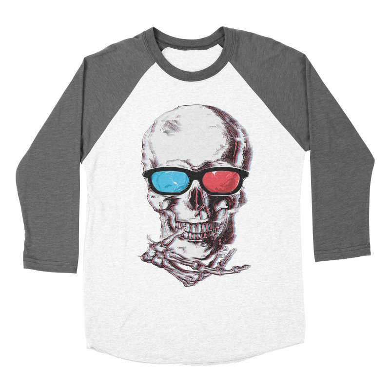 3 Death Men's Baseball Triblend Longsleeve T-Shirt by IAmRobman