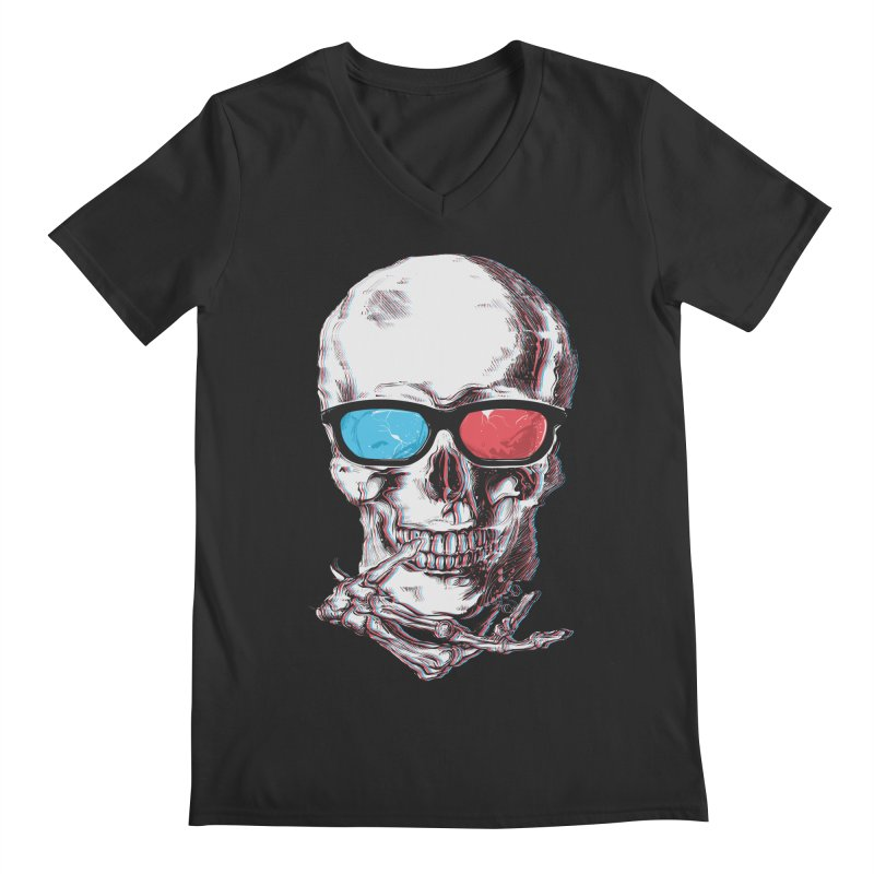 3 Death Men's Regular V-Neck by IAmRobman