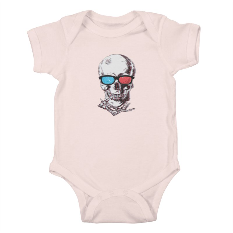 3 Death Kids Baby Bodysuit by IAmRobman