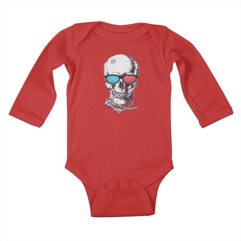 3 Death Kids Baby Longsleeve Bodysuit by IAmRobman