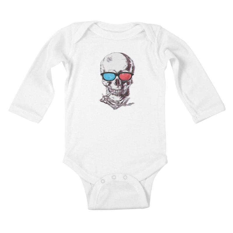 3 Death Kids Baby Longsleeve Bodysuit by IAmRobman