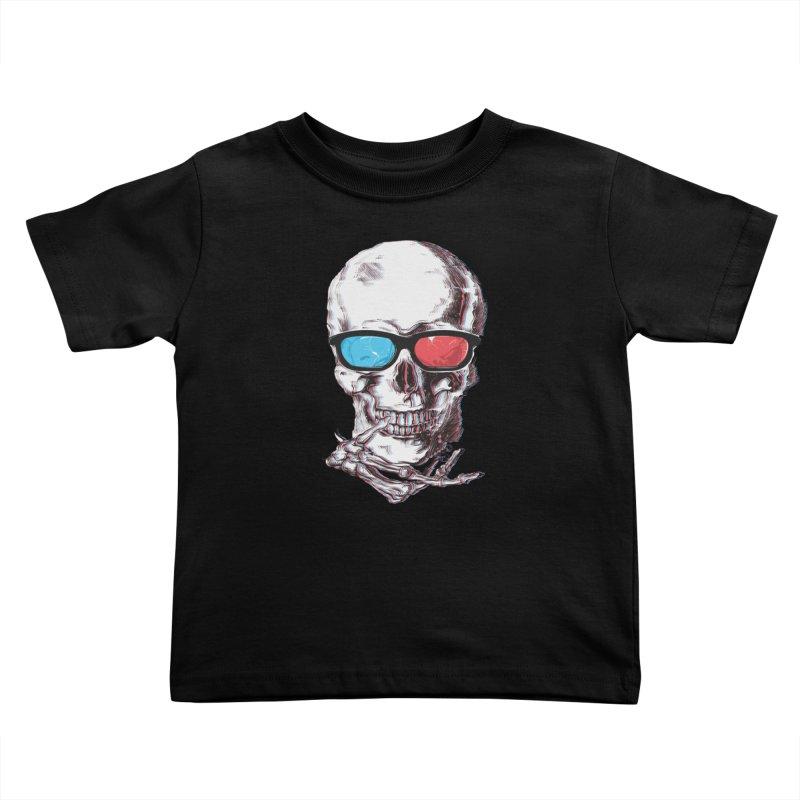 3 Death Kids Toddler T-Shirt by IAmRobman