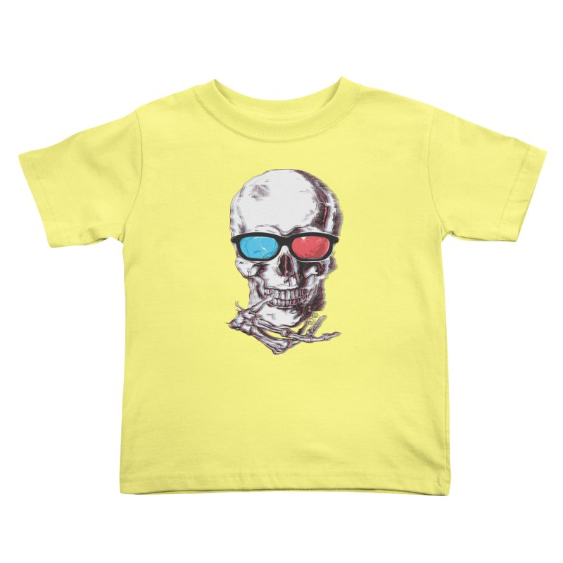 3 Death Kids Toddler T-Shirt by IAmRobman