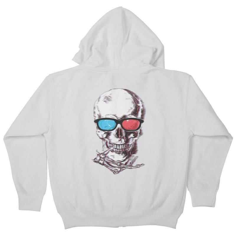 3 Death Kids Zip-Up Hoody by IAmRobman