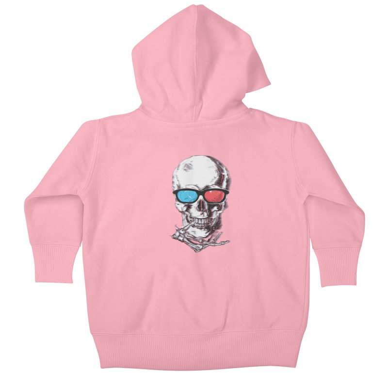 3 Death Kids Baby Zip-Up Hoody by IAmRobman
